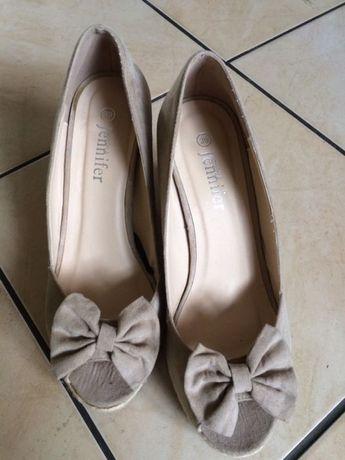 Okazja!!!Nowe buty na koturnie