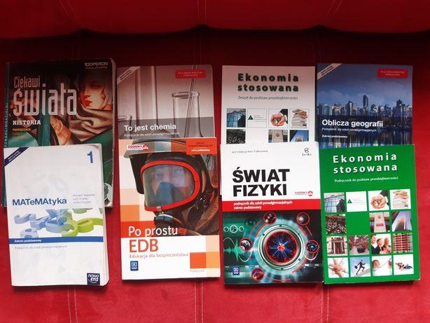 Książki do 1 technikum/liceum po gimnazjum