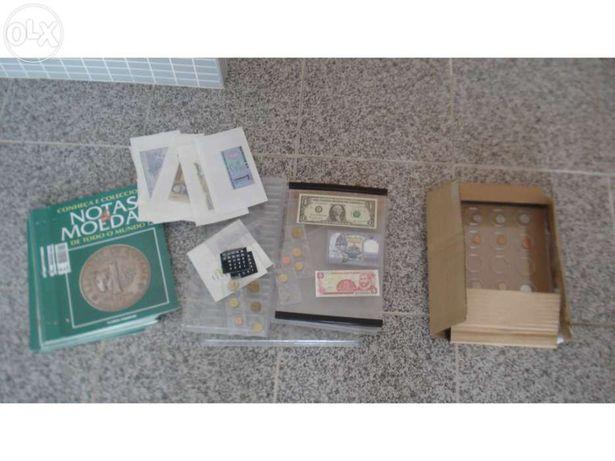 Coleção notas e moedas Planeta Agostini