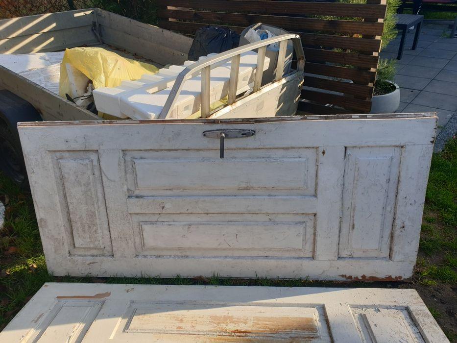 Drzwi drewniane z lat 70 . Pawłów - image 1