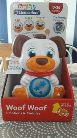 Zabawka interaktywna baby Clementoni Woof woof