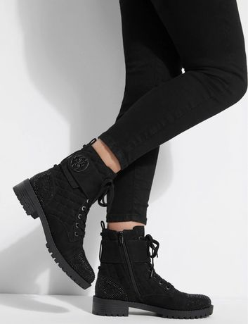 Ботинки замшевые Guess