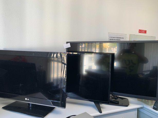 lcd´s led tv´s três aparelhos