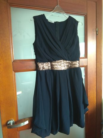 Sukienka granatowa rozmiar 38