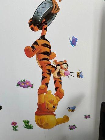 3d Наклейка в дитячу кімнату в наявності Вінні Пух