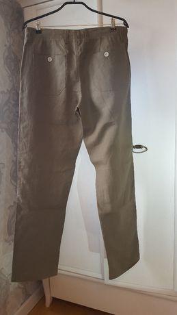 Spodnie męskie lniane Nils Sundstrom