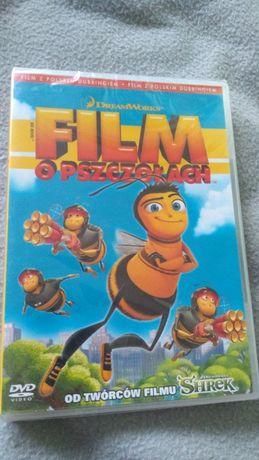 Film o pszczołach, animowany, DVD, polski język + napisy
