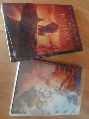 DVDs 2 filmes Rei Leão