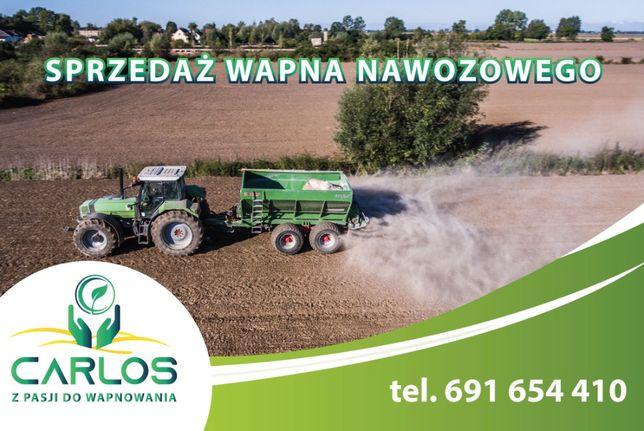 Wapno nawozowe węglanowe KUJAWIT 50%CaO, gwarancja jakości DOPŁATY!!