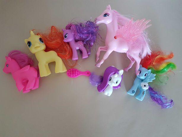 Koniki kucyki My Little Pony 7 sztuk