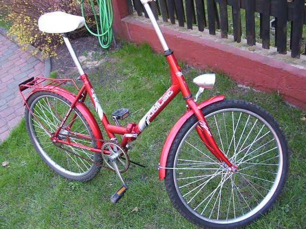 "Super rower skladany JUBILAT 24"""