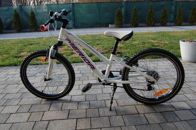 """Rower Merida Matts J20 biały dla dziewczynki - rama 10"""" - koła 20"""""""