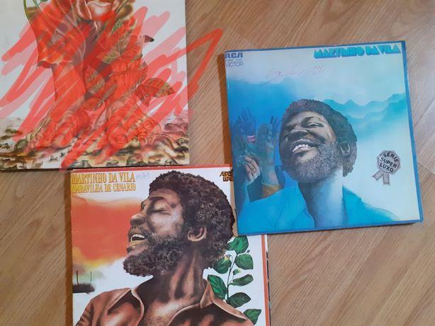Discos LP antigos do Martinho da Vila