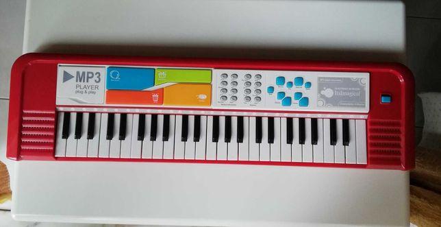Piano do Imaginárium, pode ligar-se ao MP3 (não incluído), + 5 anos.
