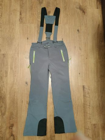 Горнолыжные штаны на подтяжках фирменные INOC