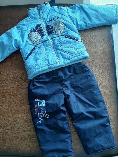 komplet kurtka i spodnie r. 98