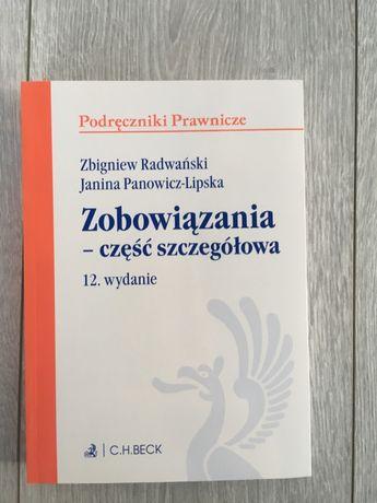 Zobowiązania część szczegółowa Z. Radwański J. Panowicz Lipska