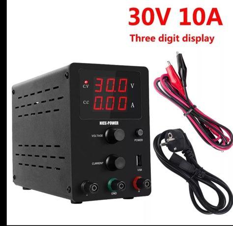 Zasilacz laboratoryjny 30V/10A
