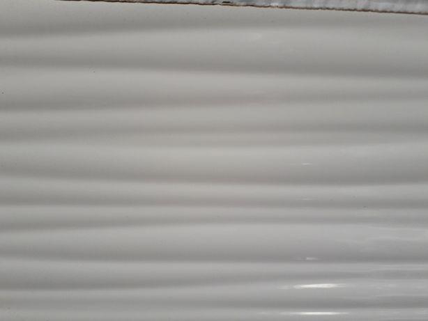 Glazura Blanca wave struktura biała