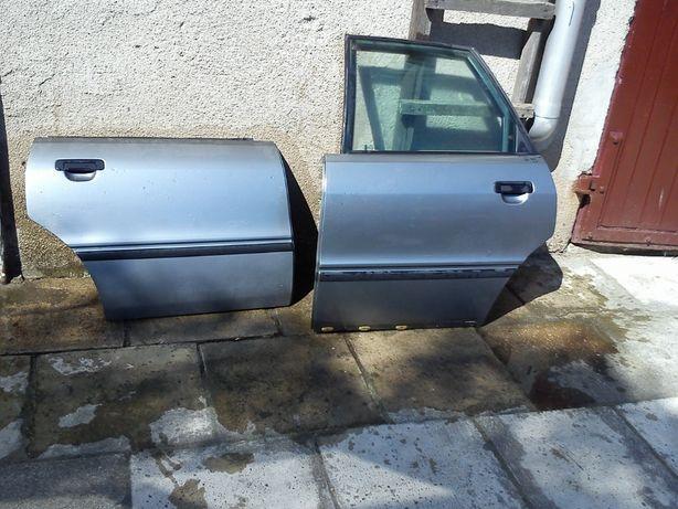 Drzwi AUDI 80 kolor ciemny szary metalik Nr lakieru LY7P