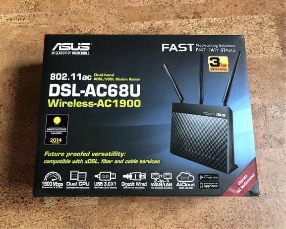 Asus DSL-AC68U modem DSL z routerem