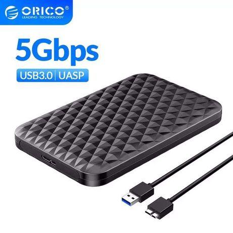 """Obudowa ORICO 2.5"""" do dysków SSD HDD z USB3.0 i UASP"""