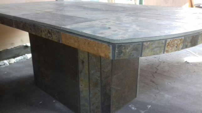 Stół tarasowe z kamienia