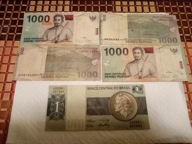 Banknoty świata różne