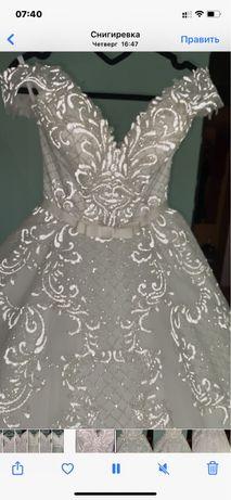 Свадебное платье 5 500грн (Торг)