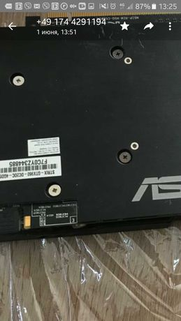 Видеокарта Asus Strix GTX 960. 4GB.