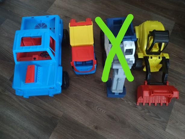 Большие машины ,трактор,мусоровоз,машинки,самолёт, игрушки
