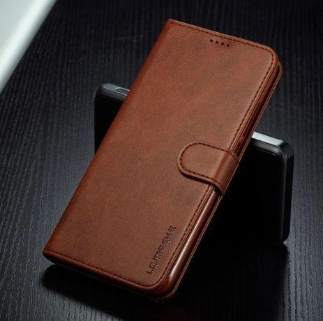 Кожаный чехол книжка на для Huawei P40 / P40 Lite / P40 Pro / Honor 9X