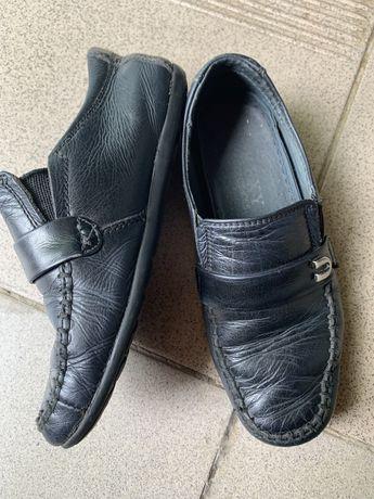 Шкіряні туфлі взуття для хлопчика