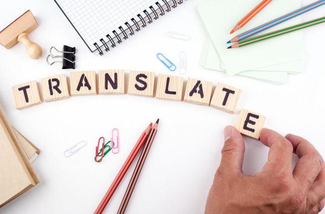 Tłumaczenia i sprawdzanie prac, szybka realizacja, tanio