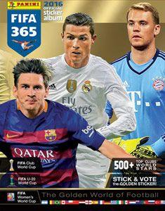 Naklejki Panini FIFA 365: 2015-16