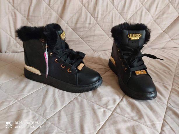Ocieplane damskie buty zimowe. Rozm 37 i 41