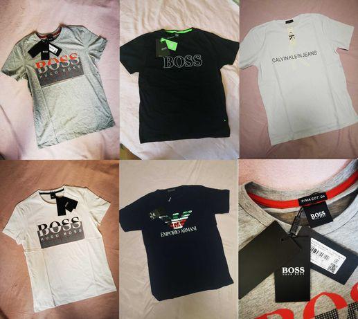 Koszulka męska Hugo Boss Calvin Klein CK Emporio Armani EA7 nowość