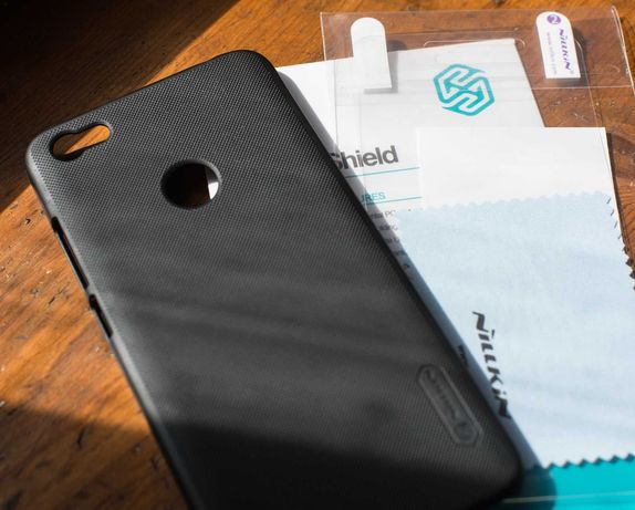 Чехол карбоновый Nillkin для Xiaomi Note 5A Prime