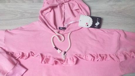 Piękna nowa bluza Fancy cukierkowy róż L/XL
