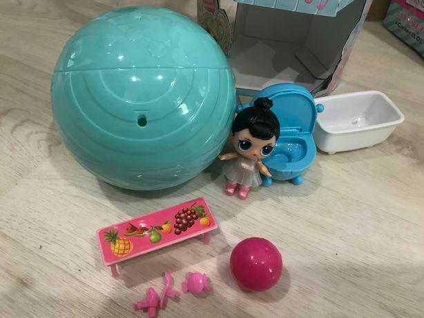 Кукла ЛОЛ большой шар , все в комплекте , 380 р.