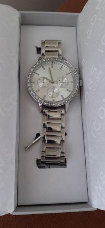 Nowy zegarek avon damski srebrna branzoleta