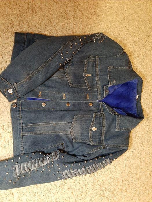 Утепленная джинсовка Антоновка - изображение 1