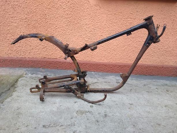 MZ ES 250 jaskółka rama do wózka kosza dok. umowa