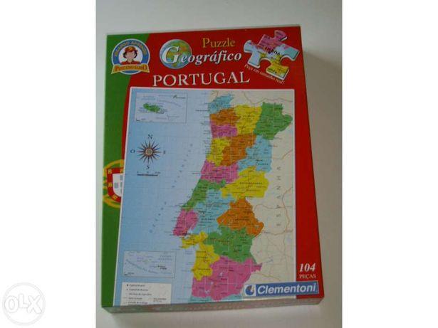 Puzzle - Mapa de Portugal