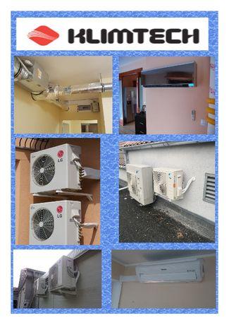 Klimatyzacja, chłodnictwo i wentylacja - dostawa, montaż i serwis