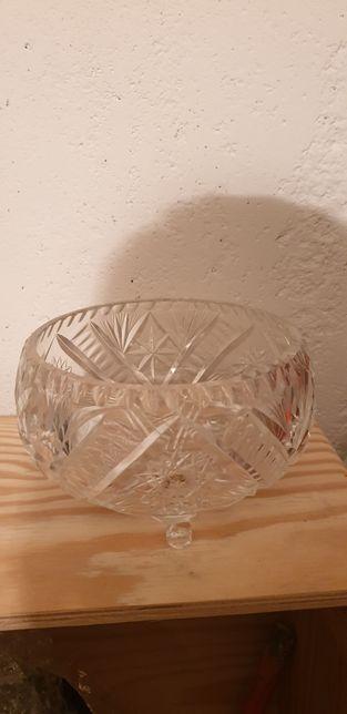 Krysztalowa misa Duza Grobe szklo