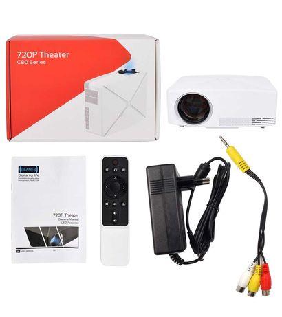 Оренда проектора андроід Wi-Fi (1,95×1,10 ) та екрану (2×1,5) Ромни.