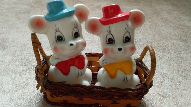 Продам забавных милых мышек для соли и перца