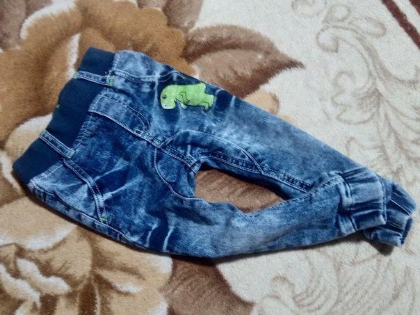 Продам джинсы на малыша