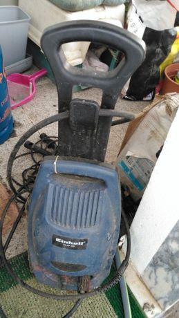 Lavadora de pressão Einhell, muito boa, com vários acessórios